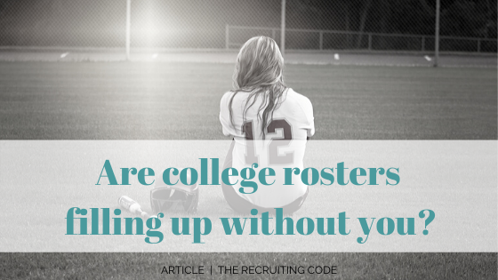 college rosters filling up