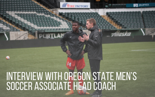 Interview with Oregon State Men's Soccer Associate Head Coach