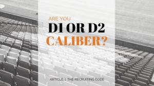 D1 or D2 caliber