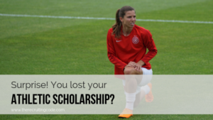 Surprise you lost your athletic scholarship featured image