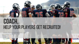 Coach, help your players get recruited! Featured image