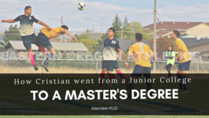 How Cristian went from a junior colleg to a master's degree feature image