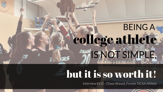 Being a college athlete is not simple, but it is so worth it!