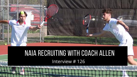 NAIA Recruiting with Coach Allen